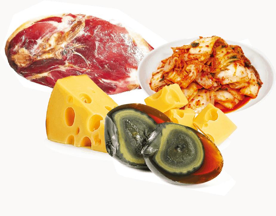 組織胺食物