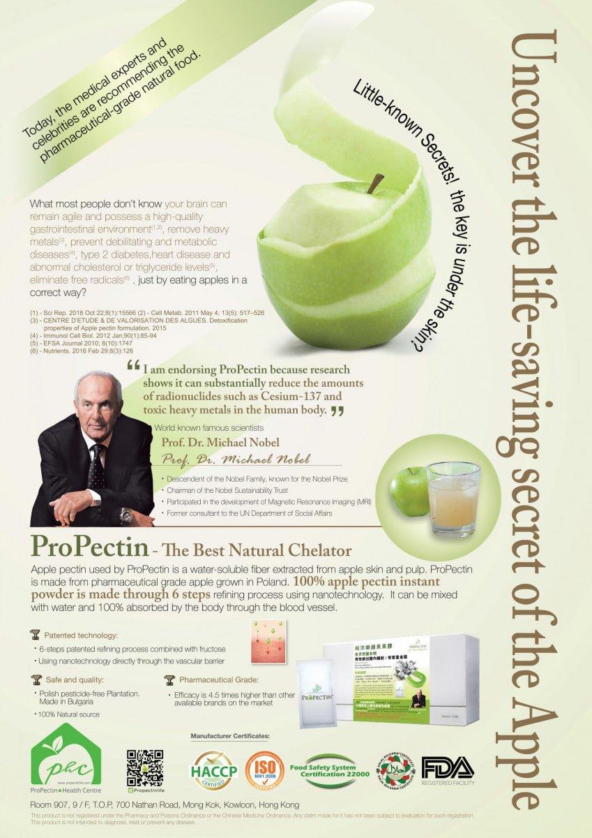 ProPectin web leaflet PHC (A3) Eng cover